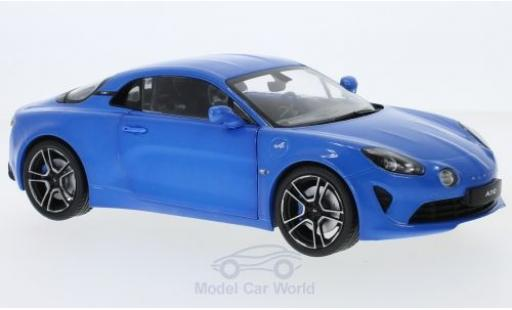 Alpine A110 1/18 Solido metallise blue 2017 diecast model cars