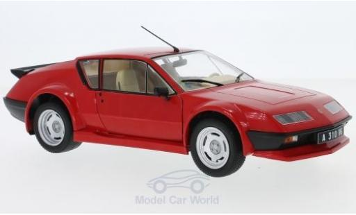 Alpine A310 Pack GT 1/18 Solido Renault Pack GT rosso 1983
