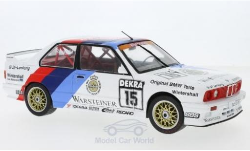 Bmw M3 E30 1/18 Solido  No.15 DTM 1989 R.Ravaglia diecast model cars