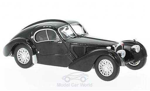 Bugatti 57 SC 1/43 Solido Typ Atlantic black RHD diecast model cars