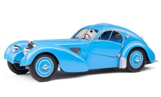 Bugatti 57 1/18 Solido Type SC Atlantic blue RHD diecast model cars