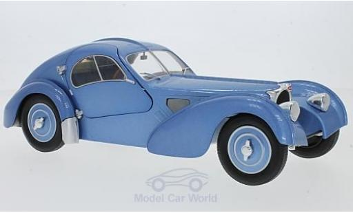 Bugatti 57 SC 1/18 Solido Type Atlantic metallise bleue RHD miniature