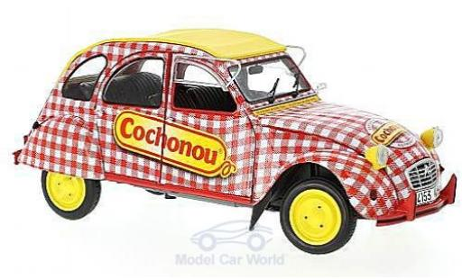 Citroen 2CV 1/18 Solido 6 Cochonou diecast model cars