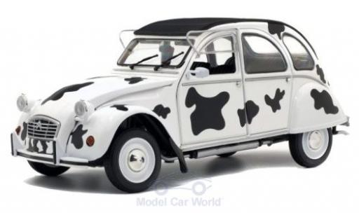 Citroen 2CV 1/18 Solido 6 Vache 1985 diecast model cars