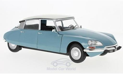 Citroen DS 19 1/18 Solido bleue/blanche 72 miniature