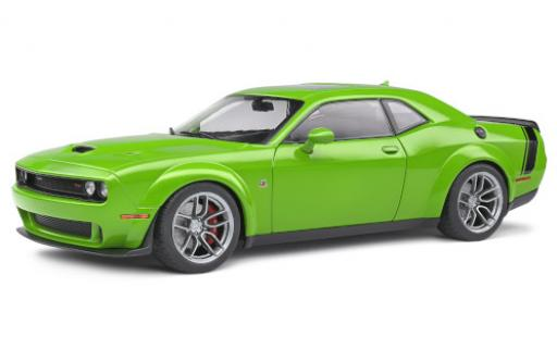 Dodge Challenger 1/18 Solido R/T Scat Pack verte/noire 2020 miniature