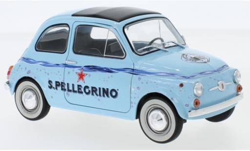 Fiat 500 1/18 Solido F San Pellegrino diecast