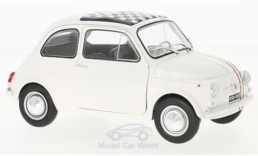 Fiat 500 L 1/18 Solido Italia blanche/Dekor Italia 1968 miniature