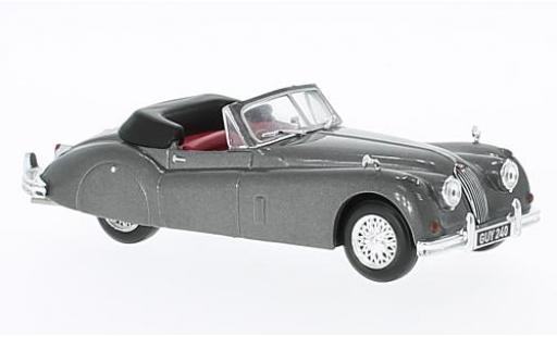 Jaguar XK 1/43 Solido 140 metallise grise RHD 1956 miniature