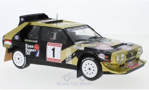 Lancia Delta 1/18 Solido S4 No.1 Esso Rallye de Asturias 1986 F.Tabaton/L.Tedeschini modellino in miniatura