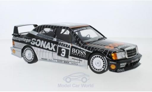 Mercedes 190 1/18 Solido E 2.5-16 Evo 2 No.3 Sonax DTM 1992 K.Ludwig diecast