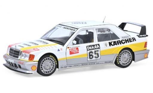 Mercedes 190 1/18 Solido E 2.5-16 Evo 2 No.65 Kärcher DTM 1990 M.Schumacher diecast model cars