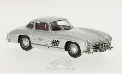 Mercedes 300 1/43 Solido SL (W198) grise 1954 miniature