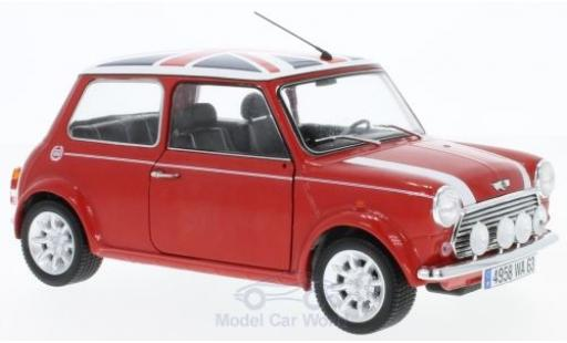 Mini Cooper S 1/18 Solido 1.3i port Pack red/Dekor 1997 diecast model cars