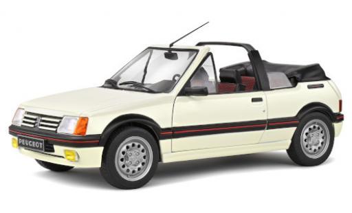 Peugeot 205 1/18 Solido CTI blanche 1986 miniature