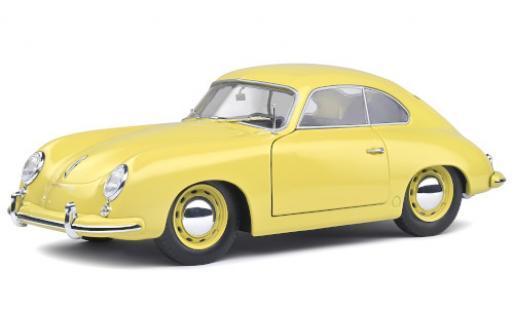 Porsche 356 1/18 Solido Pre-A yellow 1953 diecast model cars