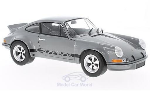 Porsche 911 SC 1/18 Solido 2.8 R grise miniature