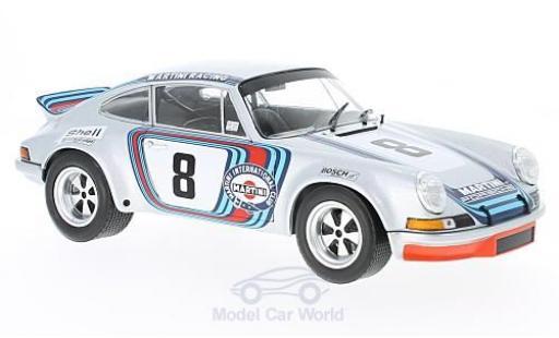Porsche 911 Targa 1/18 Solido Carrera R No.8 Martini Targa Florio 1973 H.Müller/G.van Lennep diecast