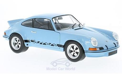 Porsche 930 SC 1/18 Solido R 2.8 hellbleue 1974 miniature