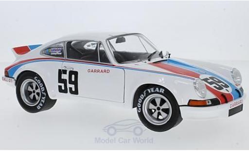 Porsche 911 SC 1/18 Solido R No.59 Brumos 24h Daytona 1973 P.Gregg/H.Haywood miniature