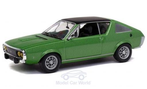 Renault 17 1/43 Solido metallise green 1974 diecast model cars