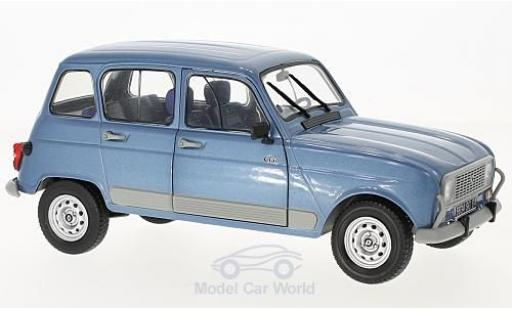 Renault 4 L 1/18 Solido GT Clan metallise bleue Air France 198 miniature