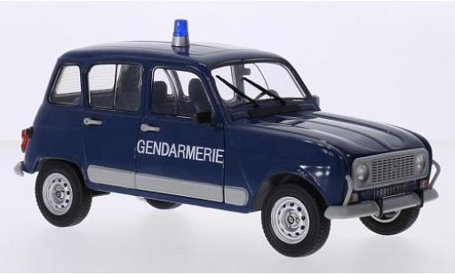 Renault 4 1/18 Solido GTL Gendarmerie 1978 police (F) miniature