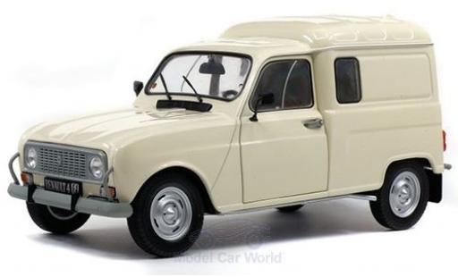Renault 4 1/18 Solido LF beige 1975 miniature