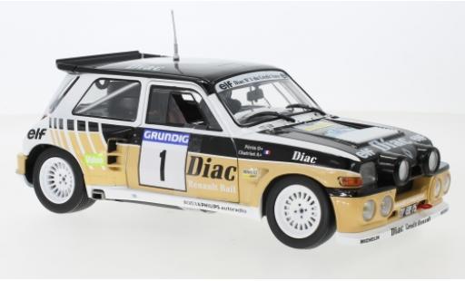 Renault 5 1/18 Solido Maxi No.1 Diac F.Chatriot/M.Perin