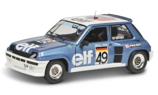 Renault 5 1/18 Solido Turbo No.49 Elf Elf Turbo Europacup Zeltweg 1981 W.Röhrl miniature