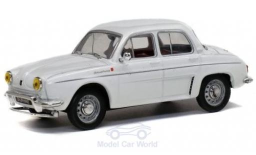 Renault Dauphine 1/43 Solido blanche 1961 miniature