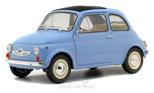 Steyr Puch 500 1/18 Solido bleue 1969
