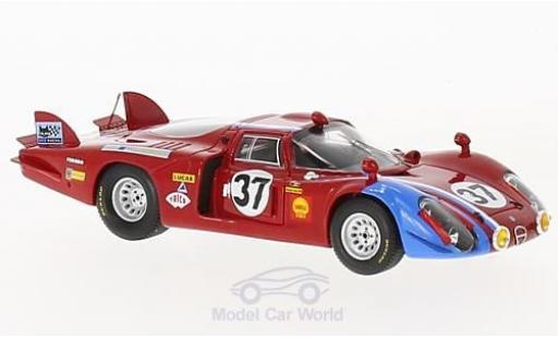 Alfa Romeo 33 1/43 Spark /2 No.37 24h Le Mans 1968 T.Pilette/R.Slotemaker diecast