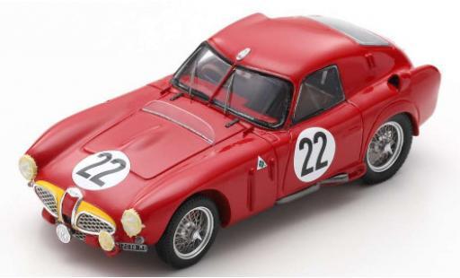 Alfa Romeo 6C 1/43 Spark 3000 CM RHD No.22 SpA 24h Le Mans 1953 J.M.Fangio/O.Marimon miniature