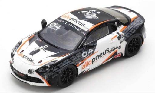 Alpine A110 1/43 Spark Cup No.04 AlloPneus Elf Europa Cup 2018 M.Blaise diecast model cars