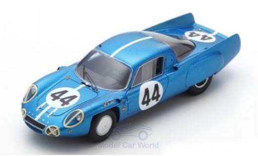 Alpine A210 1/43 Spark No.44 24h Le Mans 1966 J.Cheinisse/R.de Lageneste diecast model cars