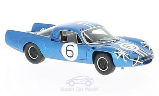 Alpine A210 1/43 Spark No.6 GP Macau 1966 M.Bianchi diecast model cars