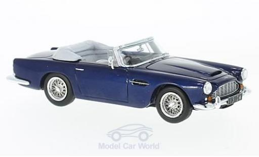 Aston Martin DB4 1/43 Spark Convertible metallic-bleue RHD 1962 miniature