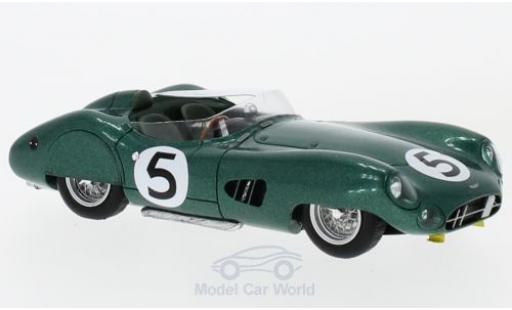 Aston Martin DBR1 1/43 Spark RHD No.5 24h Le Mans 1959 R.Salvadori/C.Shelby miniature