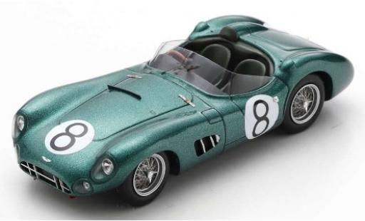 Aston Martin DBR1 1/43 Spark RHD No.8 Major Ian B. Baillie 24h Le Mans 1960 I.Baillie/J.Fairman miniature