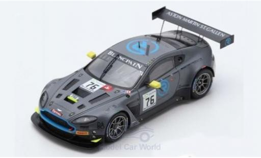 Aston Martin V12 1/43 Spark Vantage GT3 No.76 R-Motorsport 24h Spa 2018 M.Vaxiviere/J.Dennis/N.Thiim diecast model cars
