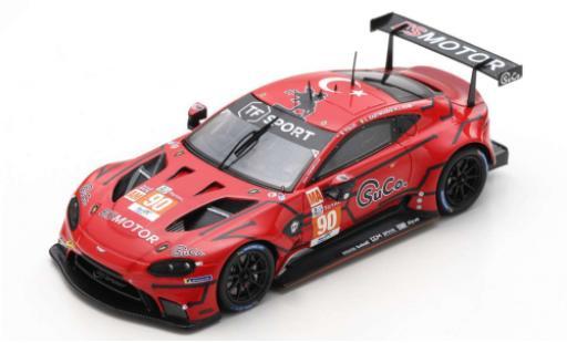 Aston Martin Vantage 1/18 Spark AMR No.90 TF Sport 24h Le Mans 2020 J.Adam/C.Eastwood/S.Yoluc miniature