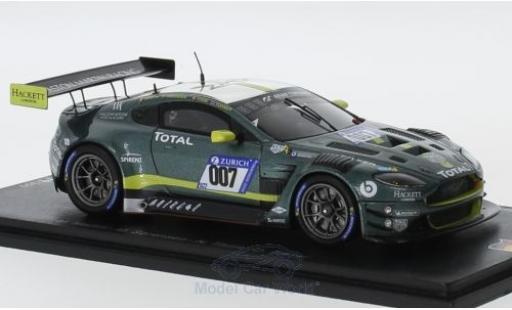 Aston Martin Vantage 1/43 Spark GT3 No.007 Racing 24h Nürburgring 2018 M.Martin/R.Sorenson/N.Thiim/D.Turner diecast model cars