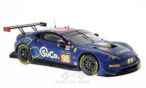 Aston Martin Vantage 1/18 Spark GTE No.90 TF Sport 24h Le Mans 2017 S.Yoluc/E.Hankey/R.Bell diecast model cars