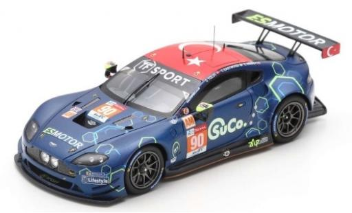 Aston Martin Vantage 1/43 Spark GTE No.90 TF Sport 24h Le Mans 2019 S.Yoluc/E.Hankey/C.Eastwood