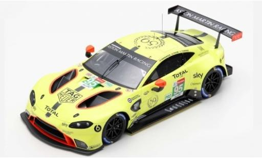 Aston Martin Vantage 1/43 Spark GTE No.95 Racing 24h Le Mans 2019 N.Thiim/M.Sorensen/D.Turner diecast model cars