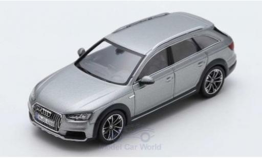 Audi A4 1/43 Spark allroad quattro grey 2016 diecast model cars
