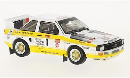 Audi Quattro 1/43 Spark quattro S1 No.1 Pikes Peak 1985 M.Mouton diecast model cars