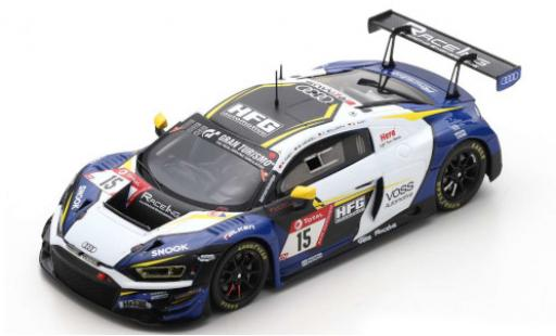 Audi R8 1/43 Spark LMS GT3 No.15 RaceIng - powered by HFG / Racing Engineers 24h Nürburgring 2020 B.Henzel/R.Frey/C.Bollrath/S.Aust