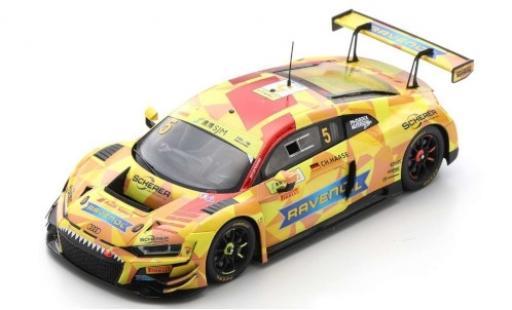 Audi R8 1/43 Spark LMS GT3 No.5 Phoenix Racing Ravenol Fia GT World Cup Macau 2019 C.Haase diecast model cars